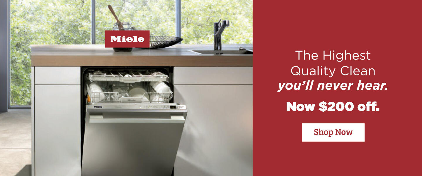 Miele  $200 Dishwasher Savings  Aug 2020