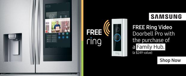 Samsung Free Ring Video Doorbell Pro April 2020