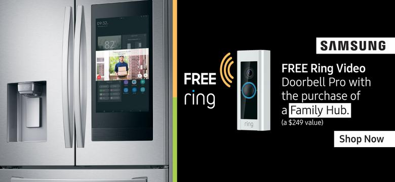 Samsung Free Ring Video Doorbell Pro April 2020