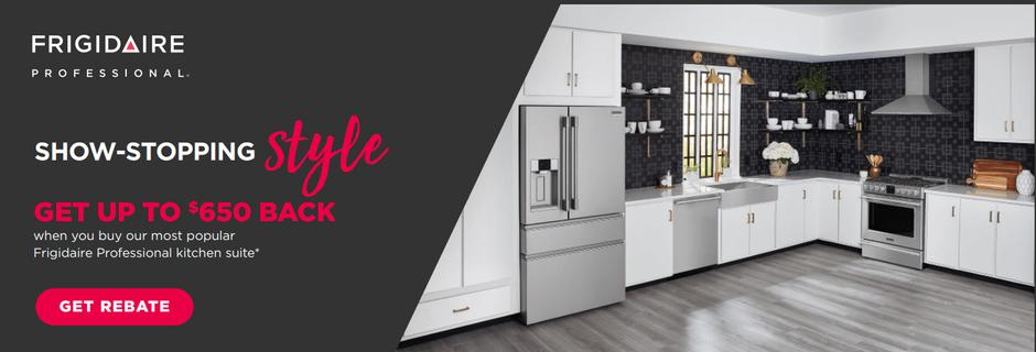 Frigidaire Professional Buy More Save More Nov 2020