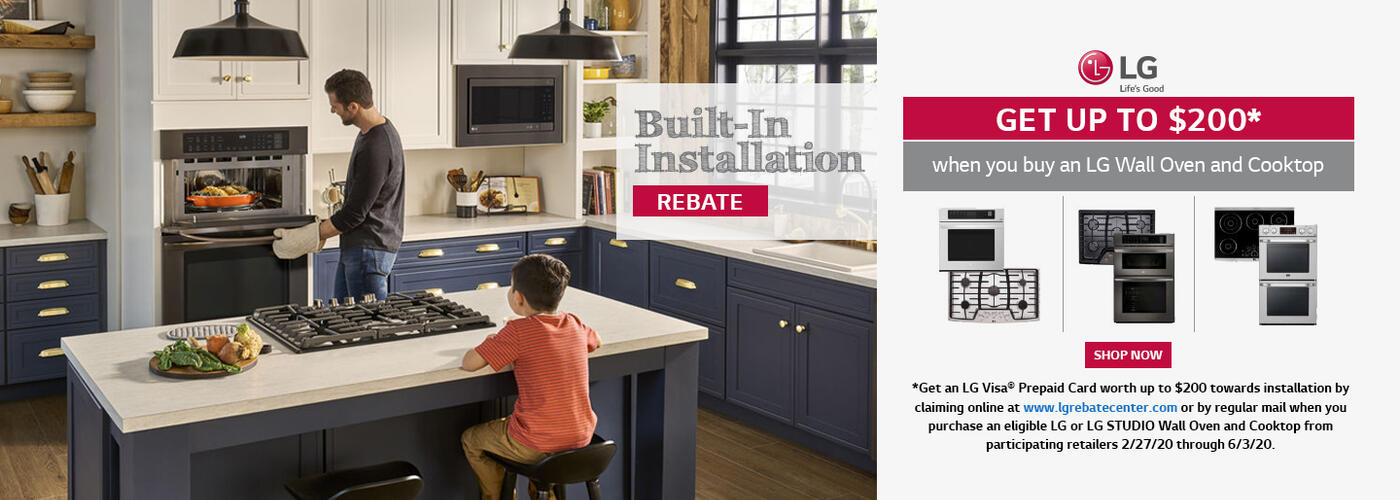 LG Built-In Wall Oven and Cooktop Installation 2020
