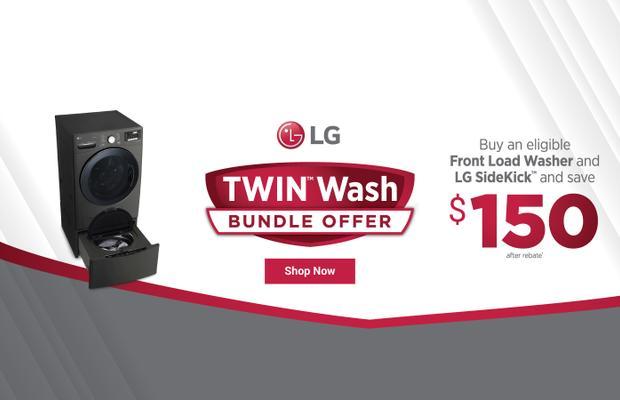 LG TwinWash Bundle Offer April 2020