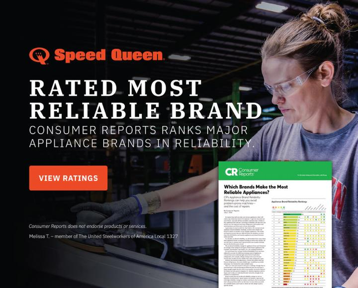 Speed Queen Consumer Reports 2020