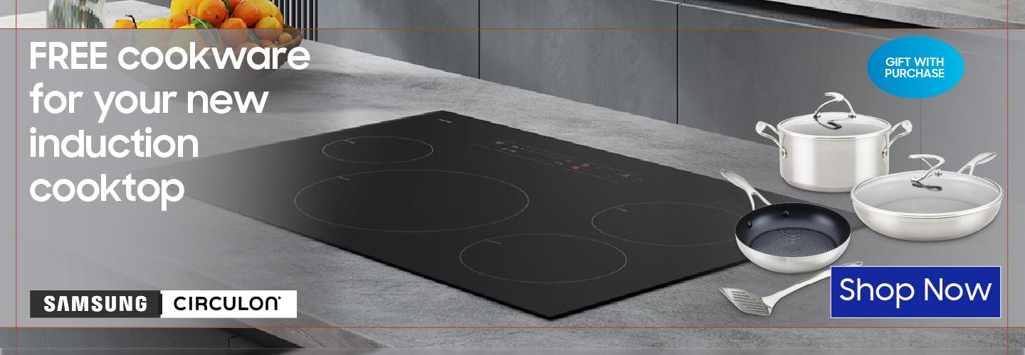 Samsung Free Induction Cookware Aug 2021-March 2022