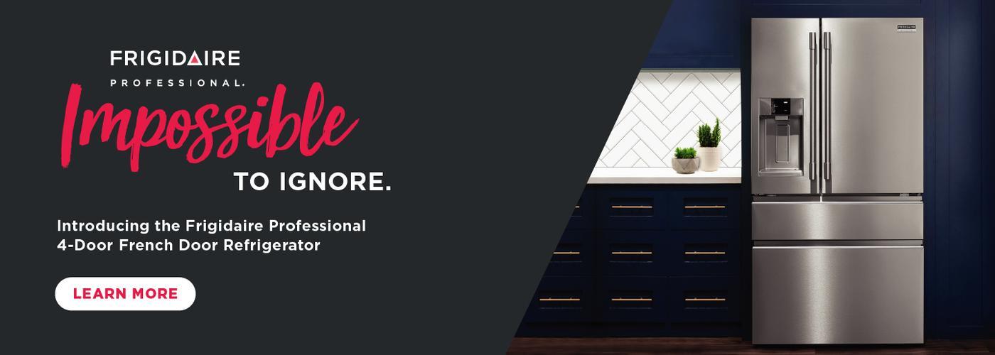 Frigidaire Professional 4-Door Ref Launch Aug 2020